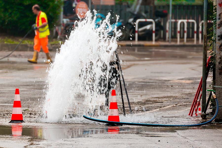 Får din virksomhed besked, hvis vandet forsvinder?