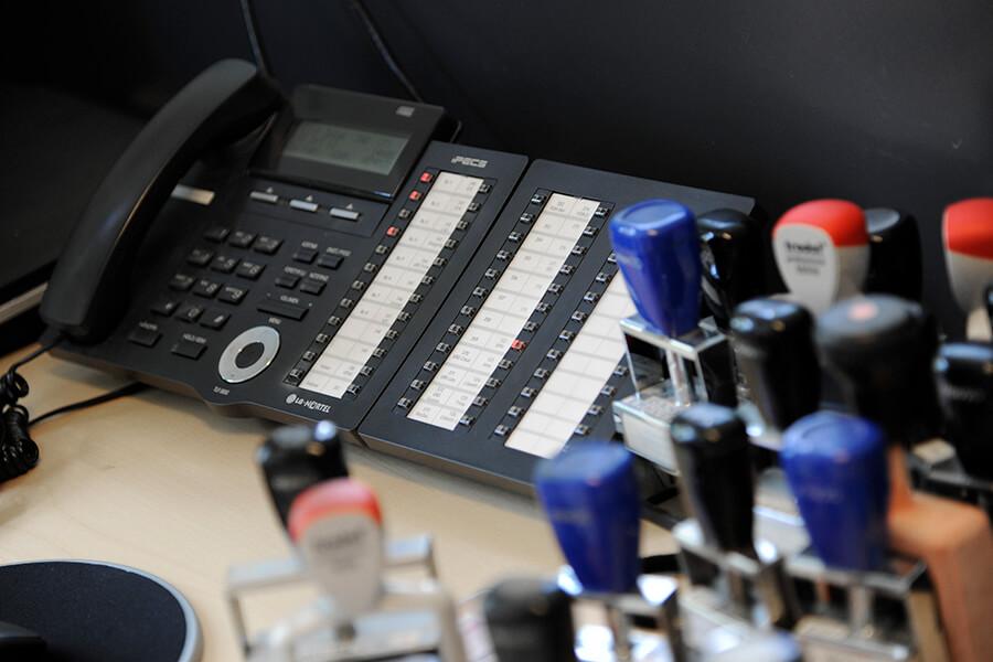 Mulighed for fastnetnummer og -telefon