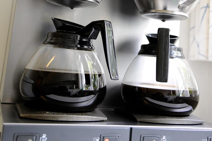 Køkken, Kaffe og opvaskemaskine