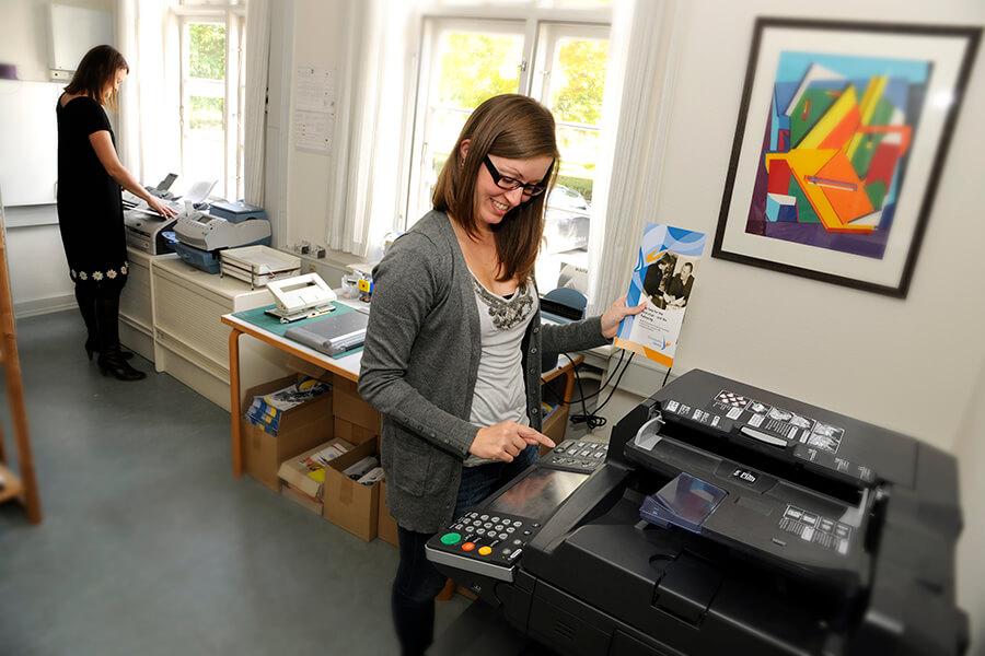 Kopimaskiner til kopi/scanning