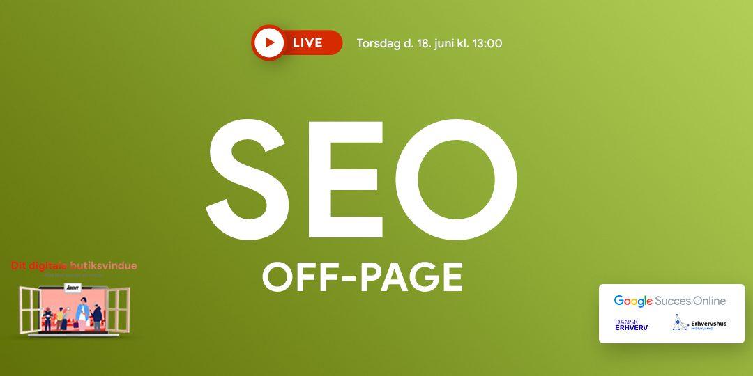 Webinar: SEO Off-page