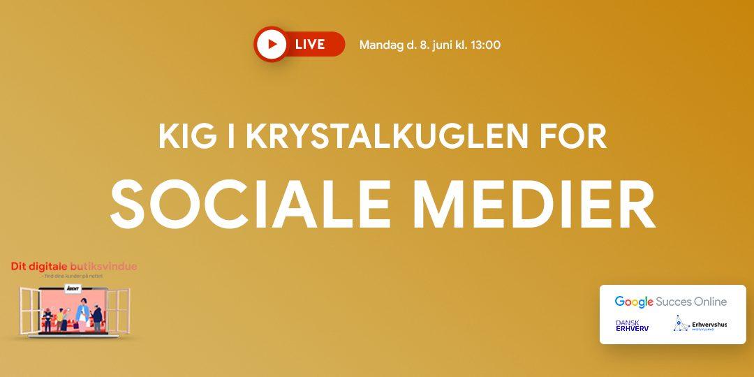Webinar: Kig i krystalkuglen for sociale medier