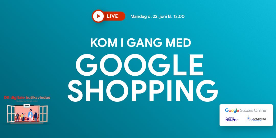Webinar: Kom i gang med Google Shopping