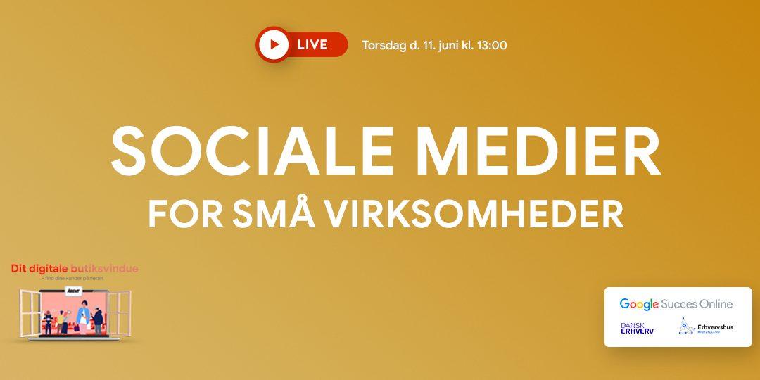 Webinar: Sociale medier for små virksomheder