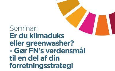 Er du klimaduks eller greenwasher?