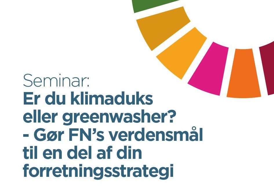 FN verdensmål seminar i Sønderborg