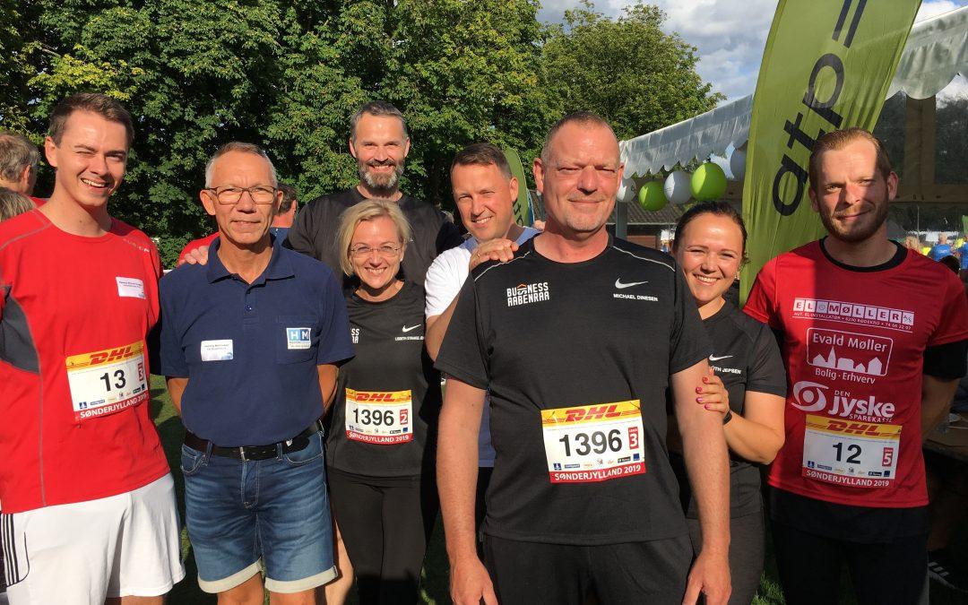 DHL Stafetten Sønderjylland – team Aabenraa Erhvervsforening