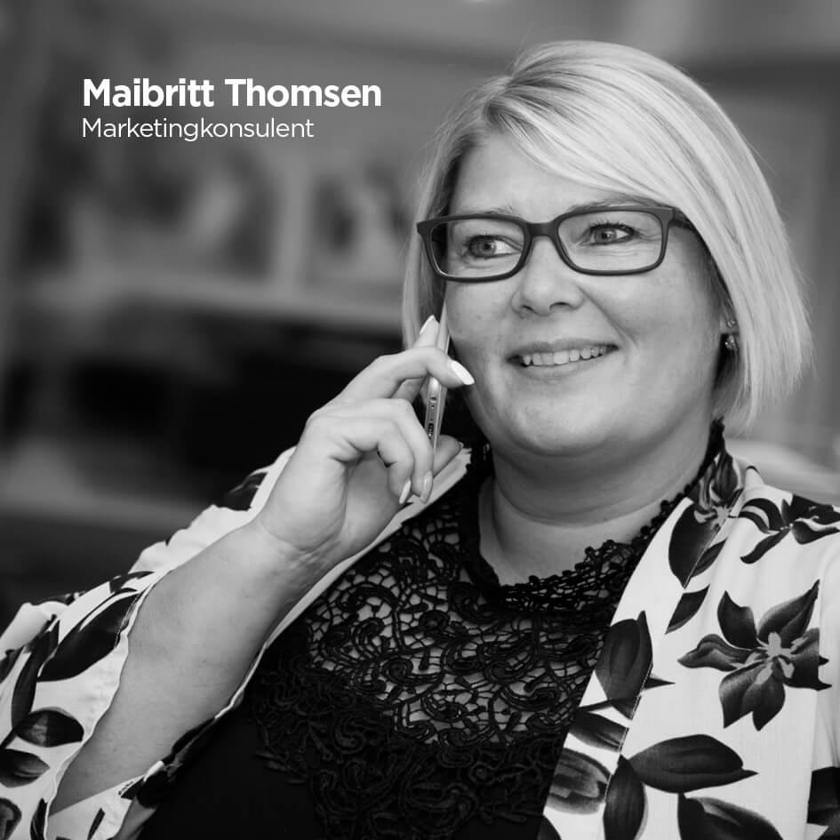 Maibritt Thomsen, Reklamehuset